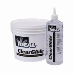 Ideal Industries ClearGlide™ 31-385 Wire Pulling Lubricant, 5 gal Pail, Gel, Clear, 1.09