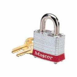 IDEAL 44-907 (RED) LOCK, 2 IN SHACKLE