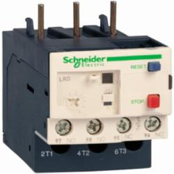 Schneider Electric LRD22 BIMETALLIC OVERLOAD RELAY 600V 24A IEC,-20C to 60C without derating,10A control circutry,16-24A,16A to 24A,1NO and 1NC,3,600VAC,D18-D32,Direct,IEC Bimetal Overload relay, Class 10 with single phase sensitivity 16-24A,Manual or Auto,Overload Relay,TeSys,TeSys D contactors or Standalone.,Thermal - Ambient Compensated Bi-Metallic/Differential Class 10 with Single Phase Sens.,UL, CSA