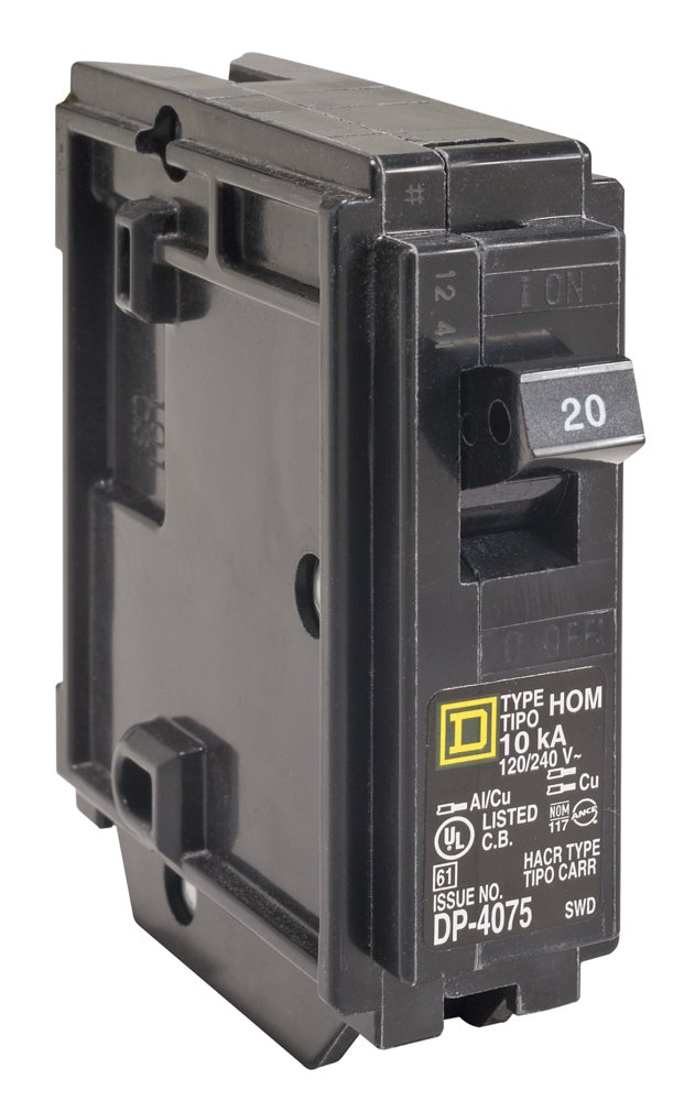 schneider electric miniature circuit breaker 120 240v 20a. Black Bedroom Furniture Sets. Home Design Ideas