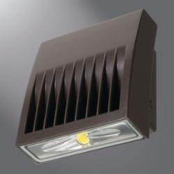 LUM XTOR3A CROSSTOUR 30W 5000K LED WALL PACK FIXTURE, 120-277V, BRONZE