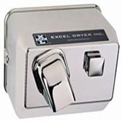 EXCEL 76-C 110/120 CHRM HAND DRYER