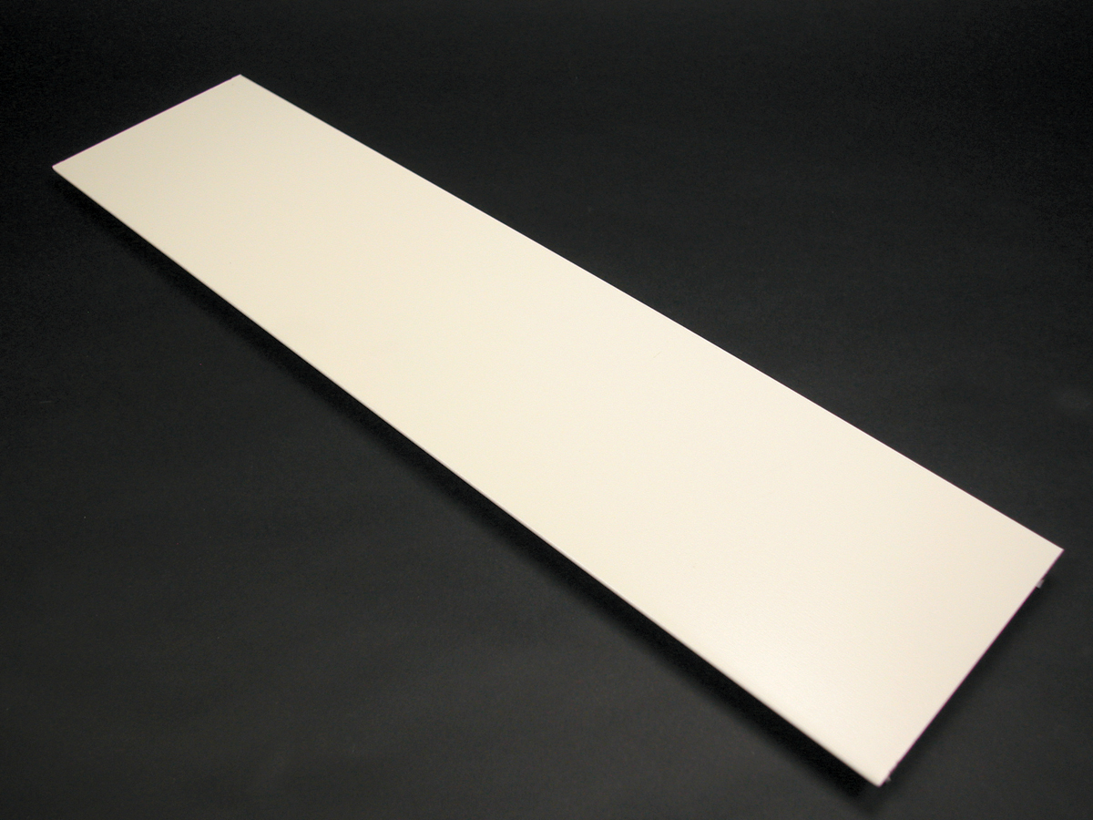 Wiremold® G4000C Precut Raceway Cover, 5 ft L x 4-3/4 in W x 1/4 in ...