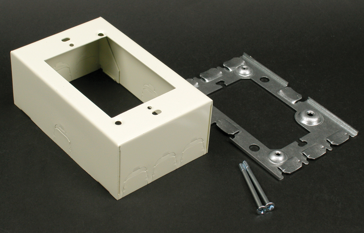 Wiremold® V5751A Deep Extension Box, 4-5/8 in L x 2-7/8 in W x 1-3/4 ...