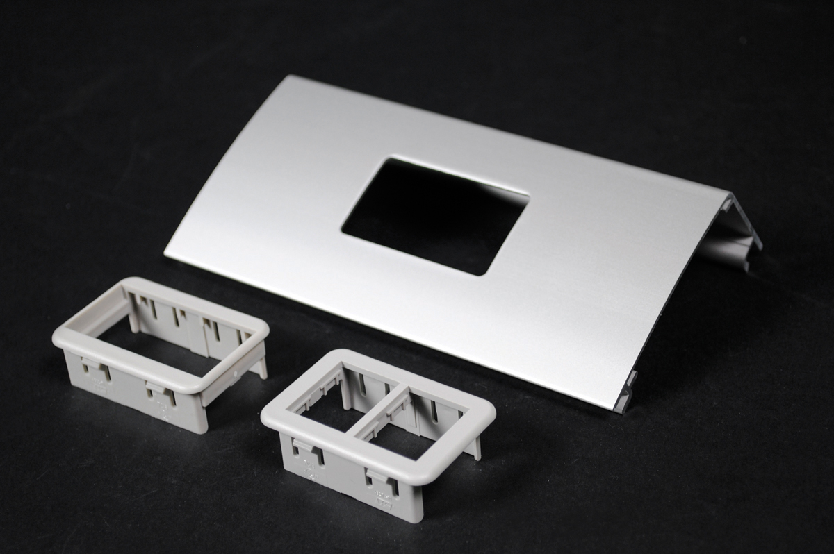 Wiremold® ALDS4047-2A Single Channel Device Plate, For Use With ...