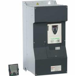 Schneider Electric ATV61HC11N4D SPEED DRIVE 150 HP 460VATV61 NO DC CHOKE,110kW,150 of nominal motor torque for 2 seconds, 110 for 60 seconds,215A 150HP,3 phases,3-Phase,3-Phase,400/480VAC,AC Drive,AI1-/AI1+, AI2, AO1, R1A, R1B, R1C, R2A, R2B, LI1...LI6, PWR terminal 2.5 mmA? / AWG 14L1/R, L2/S, L3/T, U/T1, V/T2, W/T3 terminal 2 x 100 mmA? / 2 x 250 kcmilPA, PB terminal 60 mmA? / 250 kcmilPC/-, PO, PA/+ terminal 2 x 100 mmA? / 2 x 250 kcmil,Altivar 61,Altivar 61,Frame 9,Graphic display keypad,IP20,Input 50/60 Hz,UL, CSA, CE, ABS, DNV, GOST, RoHS, WEEE, C-Tick, NOM 117,Variable Torque