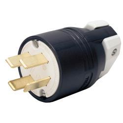 Hubbell Wiring Device-Kellems PLUG, 4P4W, 60A 120/208V, 18-60P, BK