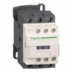Schneider Electric LC1D096BD CONTACTOR 600VAC 9AMP IEC +OPTIONS,24 V DC,25 A at <= 60 deg.C for power circuit-10 A at <= 60 deg.C for signalling circuit,3 NO,3P,LC1D,contactor,LC1D,resistive load-motor control,Ring Tongue,TeSys,TeSys D,UL Listed (E164862 / NLDX) - CSA Certified (LR43364 3211 04) - IEC Rated (60647-4) - CE Marked - RoHS Compliant,rail-plate