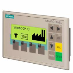 SIEMENS 6AV66410AA110AX0 PANEL OP73 BACKLIT LCD 3