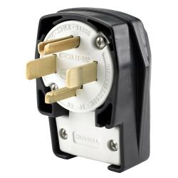 Hubbell Wiring Device-Kellems PLUG, ANG, 3P4W, 30A 125/250V, 14-30P