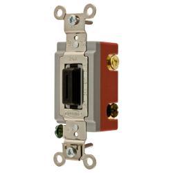Wiring Device-Kellems HBL1224L 4-Way Extra Heavy Duty Locking Toggle Switch, 120/277 VAC, 20 A, 1 hp/2 hp