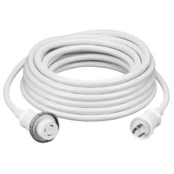Hubbell Wiring Device-Kellems MARINE CABLE, 50', 30A 125V, WH