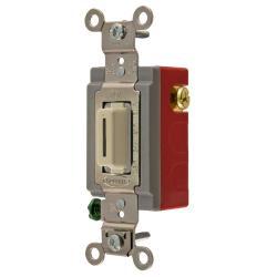 Hubbell Wiring Device-Kellems MOM TOG, 20A, 120/277V, SPDT, LK, IV