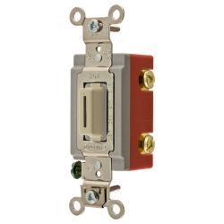 Wiring Device-Kellems HBL1221LI Extra Heavy Duty Locking Toggle Switch, 120/277 VAC, 20 A, 1 hp/2 hp