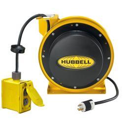 HUBW HBL45123R20 CORD REEL W/BOX & 5352GRY, 45FT 12/3