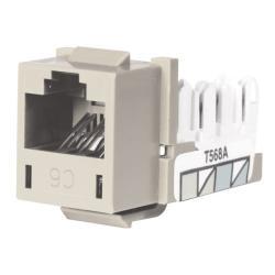 Hubbell Wiring Device-Kellems JACK, HXJ,CAT6,8POS,UNI A/B,OW