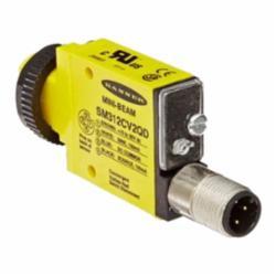 Banner Engineering Mini-Beam® Industry Standard Sensor, Rectangular, Proximity/Convergent Sensing Method, 43 mm Sensing Distance, Bi-Polar NPN/PNP Output, 10/30 VDC, Integral Quick-Disconnect M12 (Euro), 1 ms Response, 72.1 mm L x 12 mm W x 30.7 mm H, NEMA 1/2/3/3S/4/4X/6/12/IP67, -20 to 70 deg C, M18 Mount, Environmental Conditions: 90% at 50 deg C Maximum Operating Relative Humidity