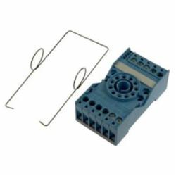 RELAY SOCKET,11 PIN,ROUND-PIN SCR TERM