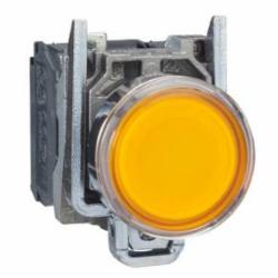 Schneider Electric XB4BW35G5 PUSHBUTTON LED 120VAC 22MM XB4 +OPTIONS,1 NO - 1 NC,10A,22mm Round,AC15 - DC13,Harmony,Illuminated,Illuminated Pushbutton,Momentary,NEMA 4/4X/13,Screw Clamp,UL Listed File Number E164353 CCN NKCR - CSA Certified File Number LR44087 Class 321103 - CE Marked,Water tight, Dust tight and Corrosion Resistant (Indoor/Outdoor),Yellow