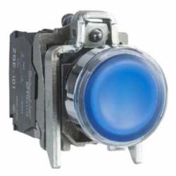 Schneider Electric XB4BW36G5 PUSHBUTTON LED 120VAC 22MM XB4 +OPTIONS,1 NO - 1 NC,10A,22mm Round,AC15 - DC13,Blue,Harmony,Illuminated,Illuminated Pushbutton,Momentary,NEMA 4/4X/13,Screw Clamp,UL Listed File Number E164353 CCN NKCR - CSA Certified File Number LR44087 Class 321103 - CE Marked,Water tight, Dust tight and Corrosion Resistant (Indoor/Outdoor)