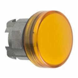 Schneider Electric ZB4BV053 PILOT LIGHT HEAD YELLOW,22mm Round,Chromium Plated Metal,Harmony,IP 65,NEMA 1/2/3/4/4X/13,Pilot Light Head,UL Listed File Number E164353 CCN NKCR - CSA Certified File Number LR44087 Class 321103 - CE Marked,Yellow Unmarked