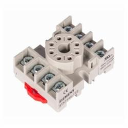 Siemens SOCKET, 8-PIN OCT, SCR TERM, DIN/PNL MT