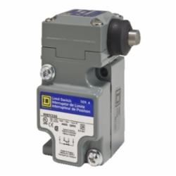 Square D 9007C52GD LIMIT SWITCH 600V 10AMP C +OPTIONS,-,metal,plug-in,-20...185 deg.F for standard environment,0.5 Inch NPT Conduit Entrance (screw clamp terminals),1 entry for 1/2 - 14 NPT conforming to ANSI B1.20.1,plug-in,10 A,600V,9007,limit switch,plug-in,plunger head,9007C,9007C,heavy duty,plunger head,NC-NO,NEMA A600/Q600,Side Push-Rod (Adjustable) Horizontal,UL Listed - CSA Certified - CE Marked,linear,standard environment