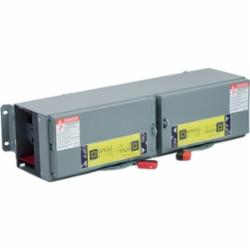 Square D QMJ363T SW FUSIBLE QMJ 600V 100A 3P TWIN/PC20904,100-100A,200000 AIR,3-Pole,600VAC,Branch Switch,Fusible Disconnect,Panel/Surface Mount,Single Throw,UL Listed