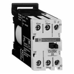 Schneider Electric CA2SK11B7 CONTROL RELAY 600VAC 10A IEC,-20...50 deg.C,1 NO + 1 NC,10 A at <= 55 deg.C,24VAC,IP2x,Screw Clamp,TeSys,UL Listed File Number E148.39 CCN NKCR - CSA Certified File Number LR12721 Class 3211 03 - SEMKO - SEV - DEMKO,control circuit,control relay,rail-plate