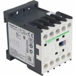 Schneider Electric CA4KN40BW3 CONTROL RELAY 600VAC 10AMP IEC +OPTIONS,-25...50 deg.C,10 A at <= 50 deg.C,24VDC (Low Consumption),4 NO,IP2x,Screw Clamp,TeSys,UL Listed File Number 164353 CCN NKCR - CSA Certified File Number LR43364 Class 3211 03 - CE Marked,control circuit,control relay,plate-rail