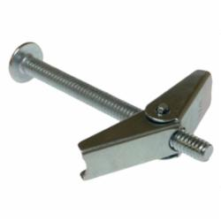Metallics 3/16 x 5 Rd Hd SLOT Spring Wing Toggle Bolt Zinc