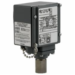 Square D 9012GFW22K1 PRESSURE SWITCH 480VAC 10AMP G +OPTIONS,-10...185 deg.F,0.25 inch 18 NPTF conforming to UL 508,0.5 inch NPT conduit entrance,120 operating cycles per minute (max),2900 psi,90...2900 psi,DPDT (isolated),Fixed Differential,NEMA 4/4X/13,Pressure Switch,Single Stage,UL, CSA, IEC, CE-marked,Water tight, Dust tight, Oil tight and Corrosion Resistant (Indoor/Outdoor),air-non-corrosive liquids-hydraulic oil (-15...250 deg.F)-hydraulic oil (-15...250 deg.F)-non-corrosive gas