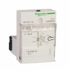 Schneider Electric LUCB1XBL ADV.CNTRL.UNIT-CL10-3PH 0.3-1.4A 24VDC,-25...70 deg.C,0.35...1.4 A,24 Vdc,3-Phase,600 V conforming to CSA C22.2 No 14-600 V conforming to UL 508-690 V conforming to IEC 60947-1,IP20 front panel and wired terminals conforming to IEC 60947-1-IP20 other faces conforming to IEC 60947-1-IP40 front panel outside connection zone conforming to IEC 60947-1,LUCB,advanced control unit,earth fault protection-protection against phase failure and phase imbalance-protection against overload and short-circuit-manual reset,LUFN..-LUFDH11-LUFDA01-LUFDA10-LUFC00-LUFW10-LULC031-LULC033-LUFV2-LULC15-LULC09-LULC07-LULC08-ASILUFC5-ASILUFC51,basic protection and advanced functions, communication,Solid State (Class 10),TeSys,TeSys U,front side,plug-in