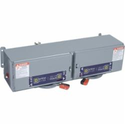 Square D QMB222TW SWITCH, FUSIBLE QMB 240V 60A 2P TWIN,2-Pole,200000 AIR,240VAC/250VDC,60-60A,Fusible Disconnect,Panel/Surface Mount,QMB,Steel,UL Listed,fuse-switch disconnector