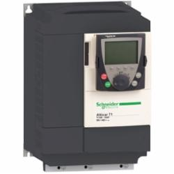 Schneider Electric ATV71HD15M3X SPEED DRIVE, 20HP, 230V, ATV71,15kW,208/240VAC,220 of nominal motor torque for 2 seconds, 170 for 60 seconds,3 phases,3-Phase,3-Phase,66A 20HP,AC Drive,AI1-/AI1+, AI2, AO1, R1A, R1B, R1C, R2A, R2B, LI1...LI6, PWR terminal 2.5 mmA? / AWG 14L1/R, L2/S, L3/T, U/T1, V/T2, W/T3, PC/-, PO, PA/+, PA, PB terminal 35 mmA? / AWG 2,Altivar 71,Altivar 71,Constant Torque,Frame 5B,Graphic display keypad,IP20,Input 50/60 Hz,UL, CSA, CE, ABS, DNV, GOST, RoHS, WEEE, C-Tick, NOM 117