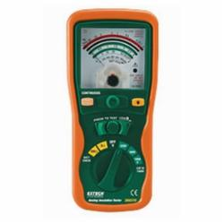 Extech® 380320 Manual ranging Insulation tester for 250V, 500V, an