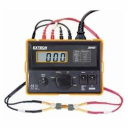 Extech® 380460 110V Portable Milliohm meter provides resolution to