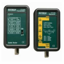 Extech® CT100 Continuity Tester for twisted pair cables and F Type