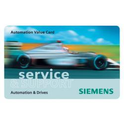 SIA 6ES79970BA000XA0 AUTOMATION VALUE CARD, 200 CREDITS