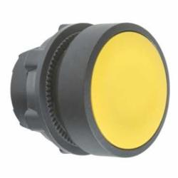Schneider Electric ZB5AH05 FLUSH PUSH ON/PUSH OFF NON-ILLUM YELLOW,22 mm,push-button,Harmony XB5,IP 65,NEMA 1/2/3/4/4X/13,Standard Button Flush,UL Listed File Number E164353 CCN NKCR - CSA Certified File Number LR44087 Class 321103 - CE Marked,head for non-illuminated push-button,head for non-illuminated push-button,plastic,push-button,push-push,yellow