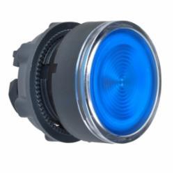 Schneider Electric ZB5AA68 FLUSH WITH TRANSPARENT CAP, BLUE,22 mm,illum push-button,Harmony XB5,IP 65,Illuminated Standard Button Flush,NEMA 1/2/3/4/4X/13,UL Listed File Number E164353 CCN NKCR - CSA Certified File Number LR44087 Class 321103 - CE Marked,blue,head for illuminated push-button,head for illuminated push-button,plastic,illum push-button,spring return