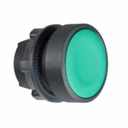 Schneider Electric ZB5AH03 FLUSH PUSH ON/PUSH OFF NON-ILLUM GREEN,22 mm,push-button,Harmony XB5,IP 65,NEMA 1/2/3/4/4X/13,Standard Button Flush,UL Listed File Number E164353 CCN NKCR - CSA Certified File Number LR44087 Class 321103 - CE Marked,green,head for non-illuminated push-button,head for non-illuminated push-button,plastic,push-button,push-push
