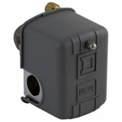 Square D 9013FHG32J55X PRESSURE SWITCH 575VAC 1HP F +OPTIONS,0.25 inch NPSF internal conforming to UL 508,150 psi,30 psi,70...150 psi,off at 150 psi,2-way pressure release valve,220 PSIG,A600,DPST,General Purpose (Indoor),NEMA 1,Pressure Switch,Pumptrol,Screw Clamp,UL listed, CSA,air (-22...257 deg.F),control small electrically driven air compressors