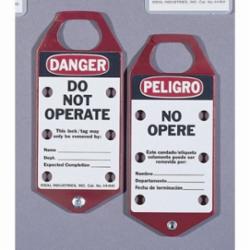 IDEAL 44-841 TAG-D/NOT OPER-RED STR,BI