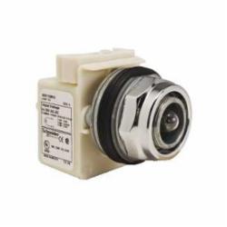Schneider Electric 9001KP35 PILOT LIGHT 28V 30MM TYPE K +OPTIONS,30mm,Full Voltage 24/28V,Harmony,NEMA 1/2/3/3R/4/6/12/13,Panel,Pilot Light,Round,Signalling,UL, CSA, CE,chromium plated metal,normal