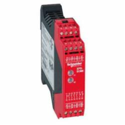 Schneider Electric XPSECME5131P Safety relay for expansion, 24 Vac/dc,24 VAC/DC(- 15...10 ),35 mm symmetrical DIN rail,BG, CSA, UL, EN/IEC 60204-1, EN/IEC 60947-5-1,IP20 conforming to EN/IEC 60529(terminals), IP40 conforming to EN/IEC 60529(enclosure),Preventa,Preventa Safety automation,increasing the number of safety contacts,increasing the number of safety contacts,Preventa safety module,captive screw clamp terminals,relay 4 NO