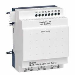 Schneider Electric SR3XT141FU ZELIO SR3 EXPANSION MODULE 14 I-O 100-240VAC,-20 to +55 Degrees C (+40 in enclosure) coforming to IEC 60068-2-1 and IEC 60068-2-2,120/240VAC,8 Discrete Inputs - 6 Relay Outputs,Screw Clamp,Smart Relay,UL Listed - CSA Certified,Zelio Logic 2