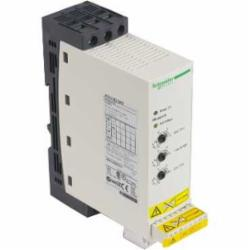 Schneider Electric ATS01N222RT SOFT START 440-480VAC 22A ATS01,15 hp at 460...480 V 3 phases-10 hp at 460...480 V 3 phases,22A,3 phases,40...50 deg.C with current derating of 2 per deg.C--10...40 deg.C without derating,440-480VAC,ATS01N2,integrated bypass,soft starter,Altistart 01,Built into the soft start,IP20,adjustable from 1 to 10 s,simple machine