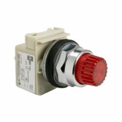 Schneider Electric 9001K2L1R20 PUSHBUTTON OPERATOR 30MM TYPE K +OPTIONS,30 mm,600V,BA 9s,Harmony 9001K,NEMA 1/2/3/3R/4/6/12/13,No Contact Blocks,Panel,Screw-On Plastic Mushroom (35mm) Red,UL File Number E42259 CCN NKCR - CSA File Number LR24590 Class 3211-03 - CE Marked,Water tight, Dust tight and Oil tight (Indoor/Outdoor),chromium plated metal,complete illuminated push-button,complete illuminated push-button,spring return