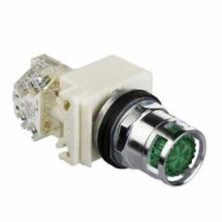 Schneider Electric 9001K3L35G PUSHBUTTON OPERATOR 30MM TYPE K +OPTIONS,30 mm,600V,Green,Harmony,NEMA 1/2/3/3R/4/6/12/13,No Contact Blocks,Panel,Pushbutton,Standard Pushbutton,UL File Number E42259 CCN NKCR - CSA File Number LR24590 Class 3211-03 - CE Marked,Water tight, Dust tight and Oil tight (Indoor/Outdoor),chromium plated metal,unmarked,momentary